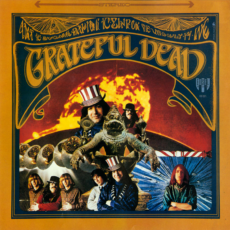 Artist: Grateful Dead; Title: Grateful Dead; Company: Edsel Records ...